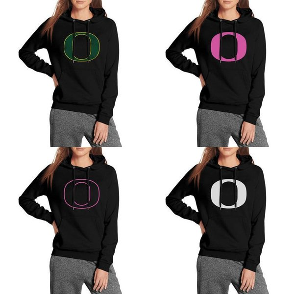 Oregon Ducks basketball logo blanc noir Sweat à capuche en molleton pour femme Réchauffement du football, cancer du sein rose, vieil imprimé Marbre tournesol USA
