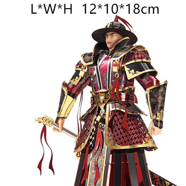 Piececool 3D Metall Puzzles DIY coole Junge Spielzeug und Geschenk der kaiserlichen Wachen der Ming-Dynastie Modell difficul Montage
