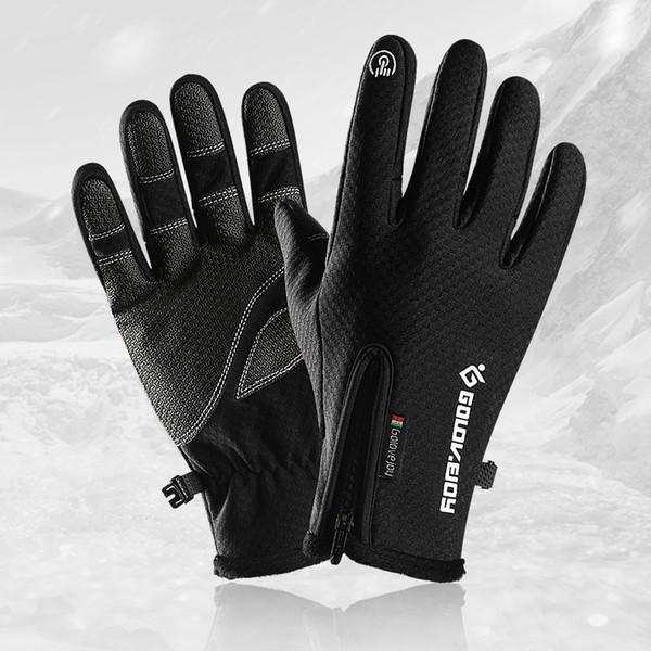 north tn foutdoor autumn and winter climbing gloves men women fleece antiskid riding bicycle sport touch screen gloves ski gloves tactical13