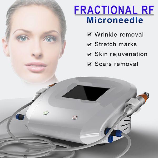 RF иглы для удаления шрамов от угревой сыпи Оборудование для ухода за красотой Microneedle Fractional