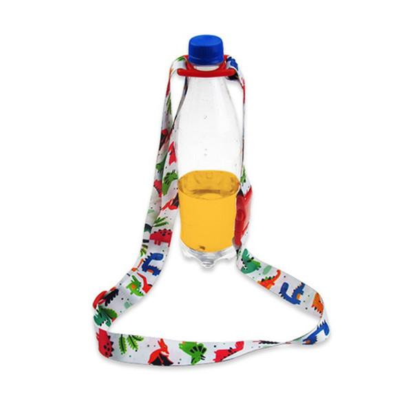 Bébé sangle d'épaule boisson bouteille sangle bouteille d'eau boucle longe portable lanière d'eau tasse accessoires