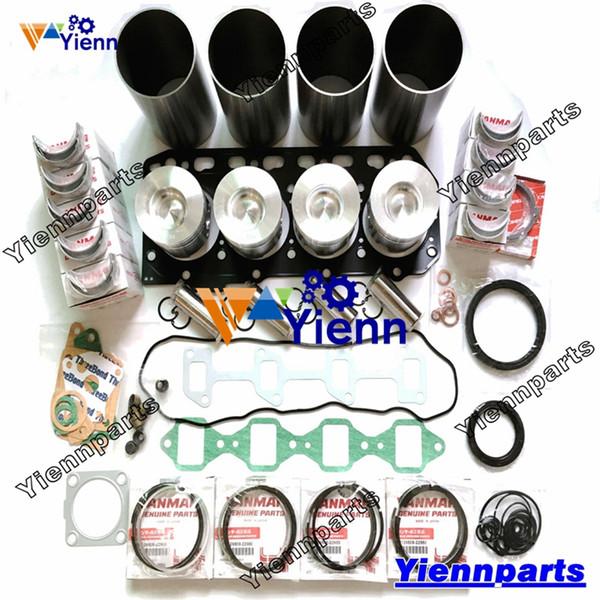 4TNE84-EDS 4TNE84-DS 4TNE84-P Kit de révision générale 4TNE84 pour pièces de réparation de moteur Yanmar 4TNE84-EJK 4TNE84-JT45 4TNE84-EJTC45 4TNE84-BAG