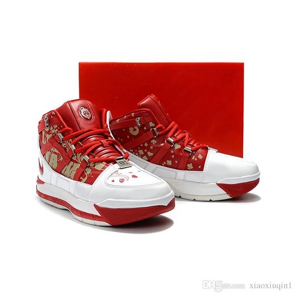 Mens Lebron 3 tênis de basquete para venda retro MVP Natal BHM Oreo juventude crianças meninos 16 botas sapatilhas com tamanho da caixa original 7-12