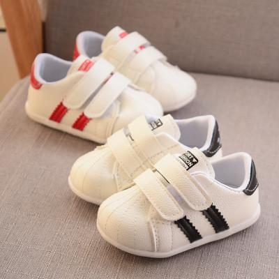 Nuevos zapatos de bebé de la marca Shell Cabeza primeros caminante nacidos cabritos del deporte de los zapatos corrientes para niños zapatillas de chicos Niñas zapato casual