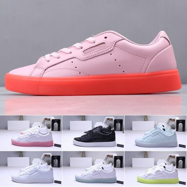 2019 Brand Women Originals Sleek W running shoes trainers girl ladies fashion casual boots comfortable foot sports best sports running sho