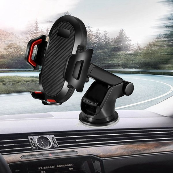 Windshield Gravity Sucker Car Phone Holder Car Mobile Support Smartphone Holders GPS Stand