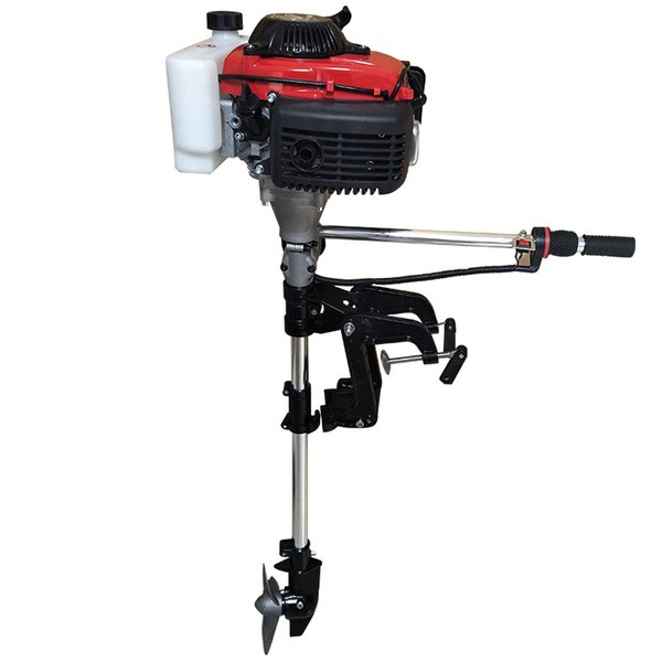 top popular Forced air-cooled 2.2HP52CC 2.5HP62CC two-stroke 4HP144 four-stroke outboard gasoline engine. 2020