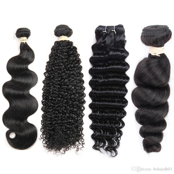 wholesale price brazilian virgin hair 1 bundles mink brazilian hair extension straight body wave kinky curly deep wave loose wave