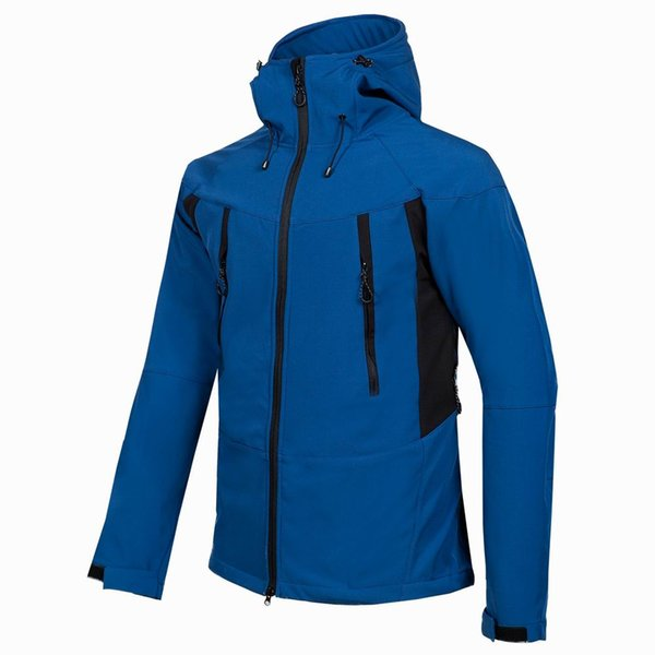 2019 New Spring Autumn Mens Softshell Hiking Jackets Male Outdoor Camping Trekking Climbing Coat For Waterproof Windproof Ski Down Coats