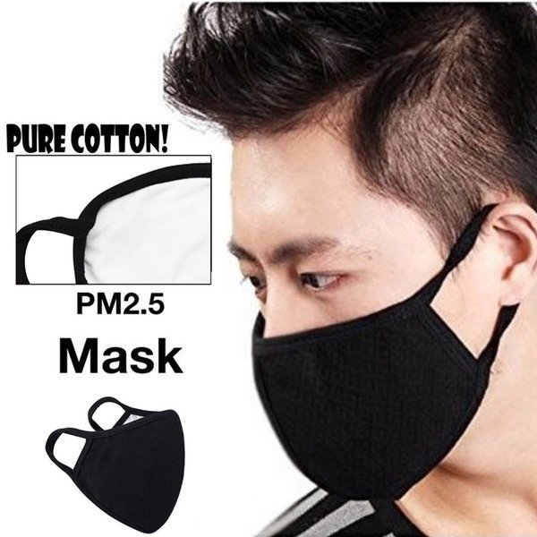 3pc Reusable Cotton Comfy Breathable Safety Air Fog Respirator Masks for Women Winter Face Protect Warm Mask Comfortable #N