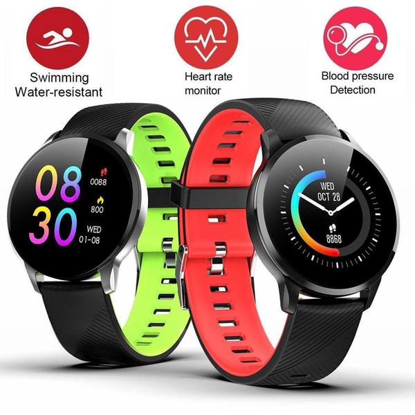 Fitness inseguitore intelligente Bracciale caloria di punto vigilanza del contatore sonno cardiofrequenzimetro Anello multi-sport della vigilanza impermeabile intelligente per iOS Android