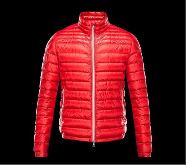 Erkekler Klasik Fransa Rahat Aşağı Ceket Aşağı Palto Erkek Açık Sıcak Kış Coat Dış Giyim ceketler