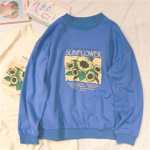 Blau Sweatshirt