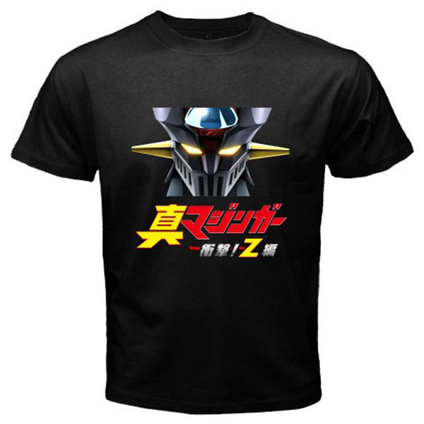 Compre Nuevo Shin Mazinger Z Mecha Robot Anime Camiseta De Dibujos Animados Jersey Imprimir Camiseta Camisetas De Marca Imprimir Camiseta De Alta