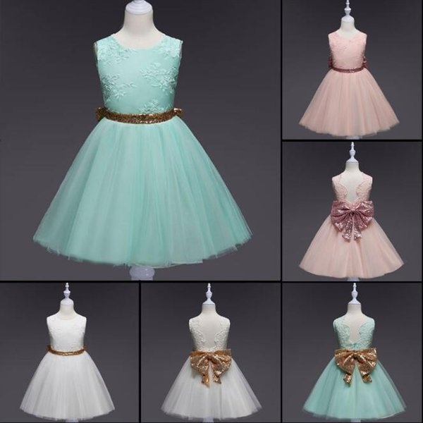 Compre Vestido De Fiesta Para Bebé Tutu Tul Para Bebés Vestidos De Bautizo Para Niños Vestidos Para Niñas Vestido De Noche Para Niños A 1195 Del