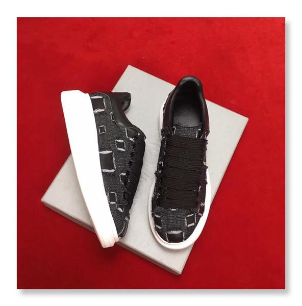 YENI Zincir Reaksiyon Deri Rahat Ayakkabı Bayan Tasarımcı Sneakers Erkek Ayakkabı Hakiki Deri Moda Karışık Renk