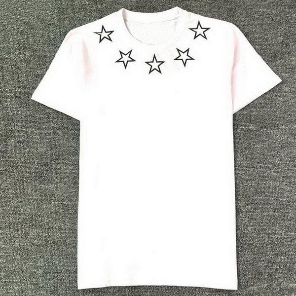 White B111 Print Star