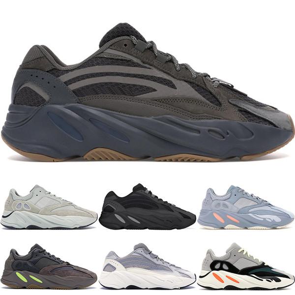 Новые 700 Inertia Geode Mauve кроссовки Mens Wave Runner 700 V2 Vanta Kanye West Дизайнерские кроссовки женск