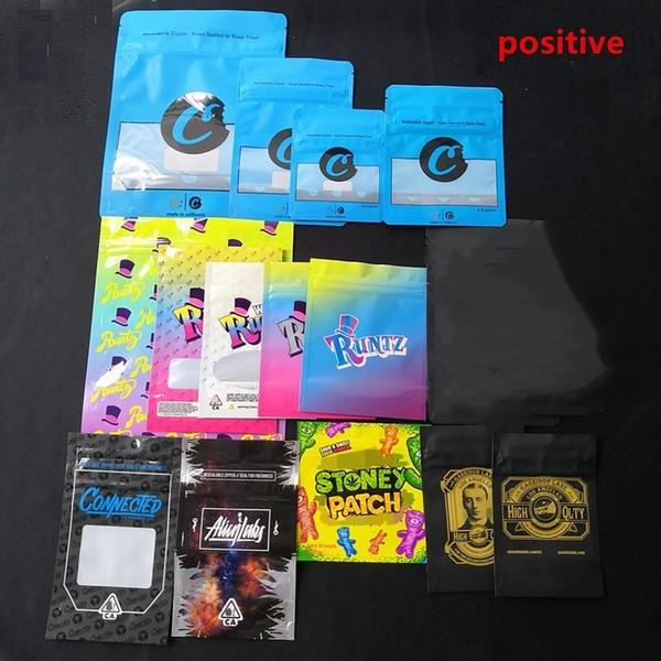 Cartucho de Vape Embalagem para Garrison Lane Runtz Stand Up Bolsa À Prova de Olho Sacos de Biscoitos Carts Vape Embalagem contraste com STONEY PATCH Top
