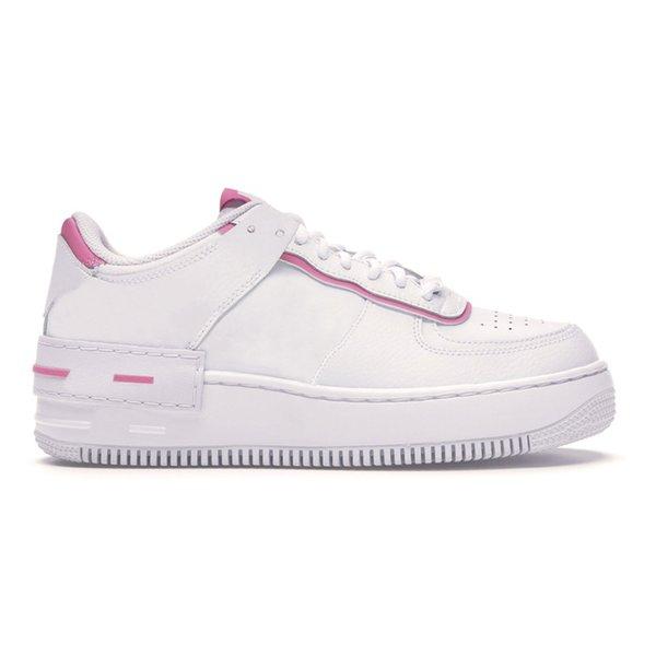 6 White pink