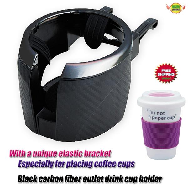 Soporte para bebidas adecuado para todos los vehículos nuevo envío rápido dhl negro