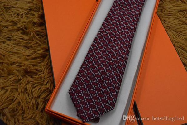 Clásica para hombre lazos de seda para hombres clásicos de la marca corbata de visita flaca de la corbata de los novios para la fiesta de la boda Traje camisa de la manera