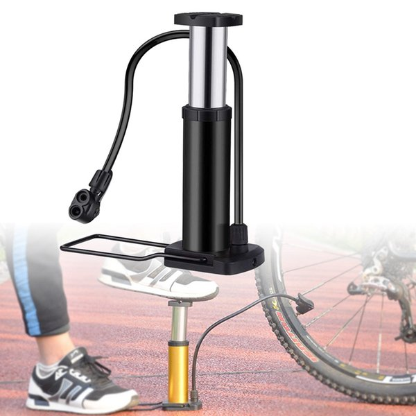 Bisiklet Pompası Mini Bike Zemin Pompa Ayak Bisiklet Hava ve Alüminyum Alaşım Taşınabilir Dağ Lastik Com Aktive