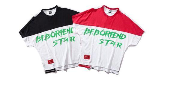 2019 Sommer nationalen Gezeiten Kurzarm-T-Shirt Männertrend Männer gut aussehend Mode lässig ins Männer-T-Shirt einer Generation
