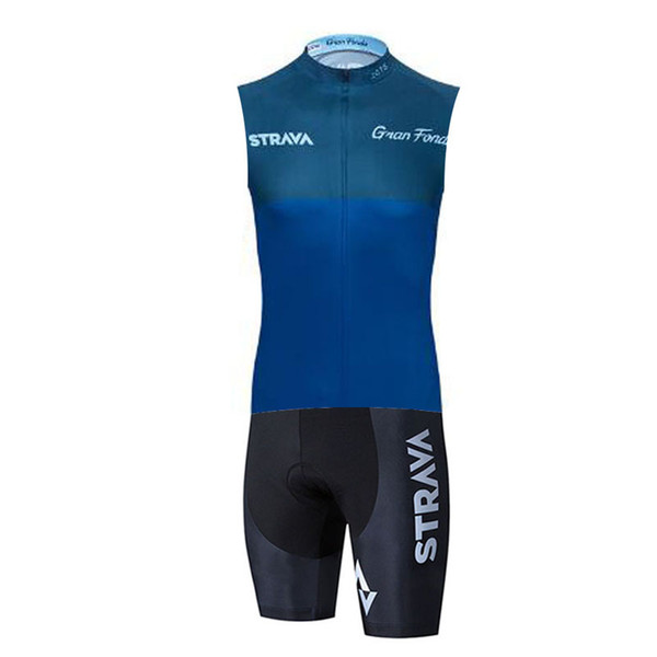 2019 Pro Team Triathlon Suit Men's sleeveless Cycling Jersey 9D Gel Pad Cycling Clothing Ropa Ciclismo Skinsuit Cycling Set
