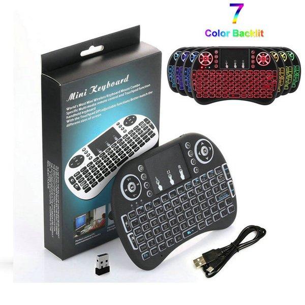 nur i8 Backlit Wireless Keyboard