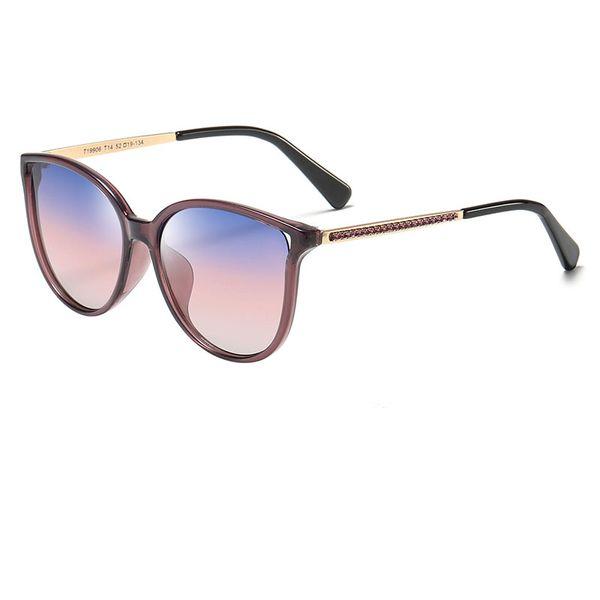 New Popular Children's Sunglasses New Fashion Retro Polarized Sunglasses women's brand designer Women's Girls Cat Eyes Sunglasses send box
