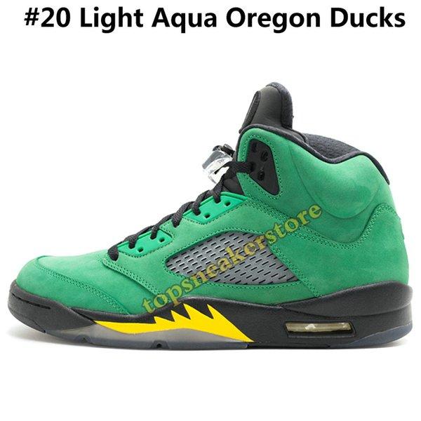 #20 Light Aqua Oregon Ducks