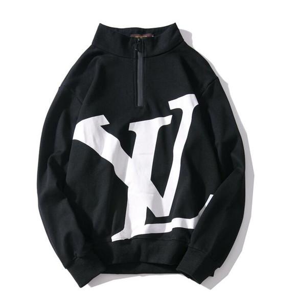 19loui mens designer sweatshirt high quality personality men brand sweatshirts jacket fashion letter logo luxury pullover coat thin M-XXL