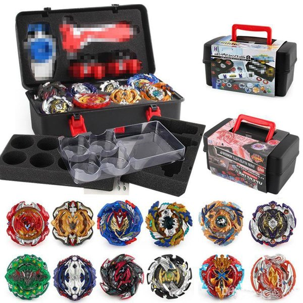 Beyblade fidget spinner 12pc/box Beyblade burst Beyblades Metal Fusion Arena 4D bey blade Launcher Spinning Top Beyblade Toys For kids DHL