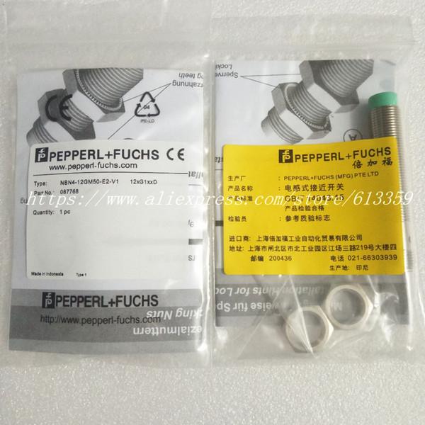 NBN4-12GM40-E2-V1 NBN4-12GM40-E0-V1 NBN4-12GM50-E2-V1 NBN4-12GM50-E0-V1 P + F Novo Sensor Indutivo de Interruptor de Proximidade