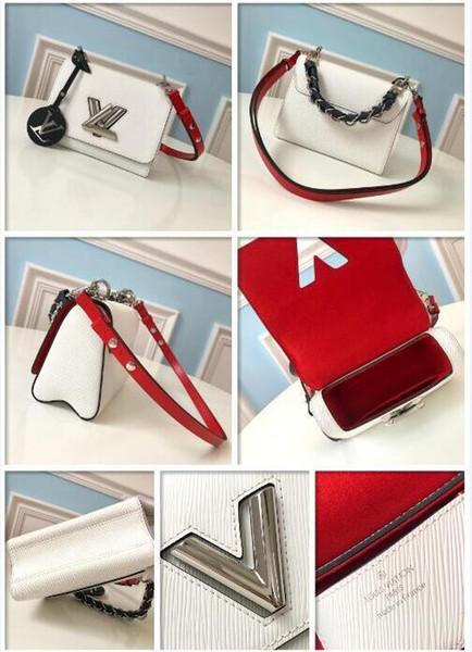 2019 Marca de Moda Sacos De Grife de Luxo Bolsa Senhora Crossbody Bag Ocasional Bolsas De Couro Epi Sacos de Corpo Cruzeta TORNEIRA PM M51886 Duffle Cintura
