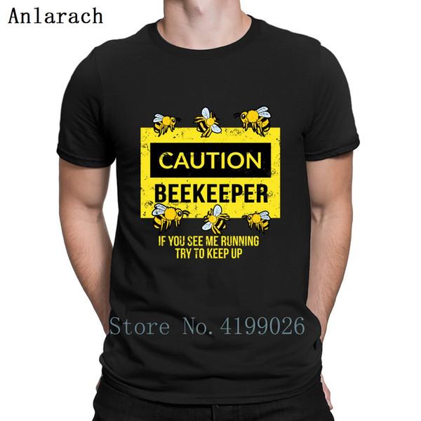 تنبيه النحال النحل تربية النحل العسل هدية فكرة T قميص O-الرقبة أنيق عادي رجالي تي شيرت ربيع 2019 مصمم الرجال بلايز الشهيرة