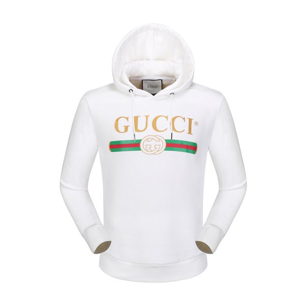 Send free Brand designer Pullover Hoodies tracksuits 2019 autumn New Classic Embroidery casual Hooded Long-Sleeved Men's Sweater