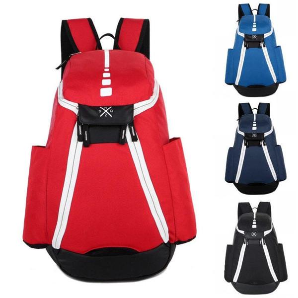 Novos Mochilas de Basquete Olímpico EUA Equipe Packs Mochila Mens Bags Grande capacidade de treinamento à prova d 'água sacos de viagem sacos de sapatos