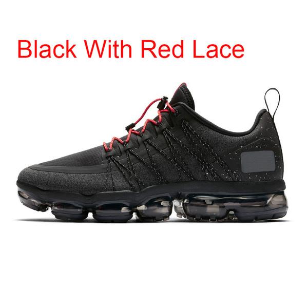 Negro con cordón rojo