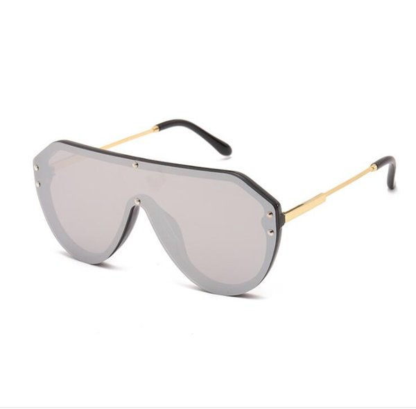 New fashion Sunglasses, European and American fashion, piece of sunglasses, net red, sunglasses, semi-metal free shipping selling best