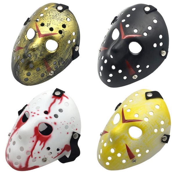 Jason Masquerade Masks For Adults Men Horror Mask Scary Halloween Costume Cosplay Festival Jason Dancing Party Mask LX4725