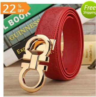 comprar popular 5666f 55c1c Compre Marca CC Cinturones De Diseñador De Lujo Cinturones Para Hombres Y  Mujeres De Oro Hebilla De Cinturón Superior De Moda Para Mujer Cinturones  De ...