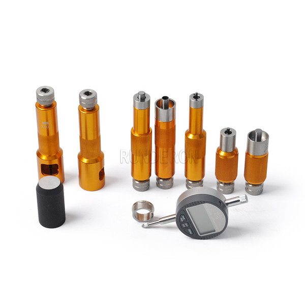 Good Quality CRI Fuel Injector Common Rail Gasket Stroke Armature Lift Adjusting Shim Tester Measuring Repair Tools Set