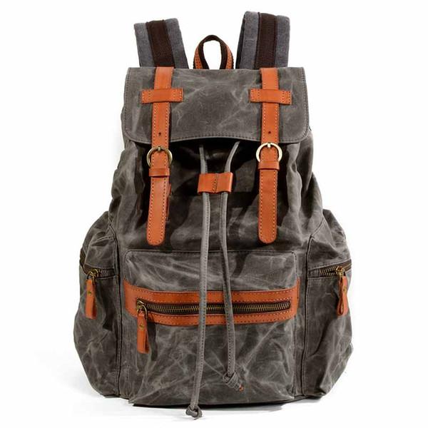 Fashion Canvas Men Backpack High Quality Water proof Women Bagpack Travel Large Capacity Backpack Male Shoulder Bag School Bag