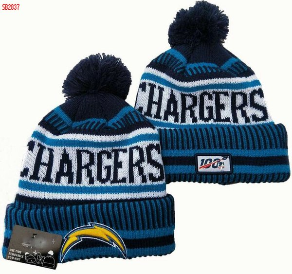 Wholesale Chargers Beanies Winter hat High Quality Men Women Skull Cap Pomp Skullies Script Cuffed Knit Hat with Pom 02