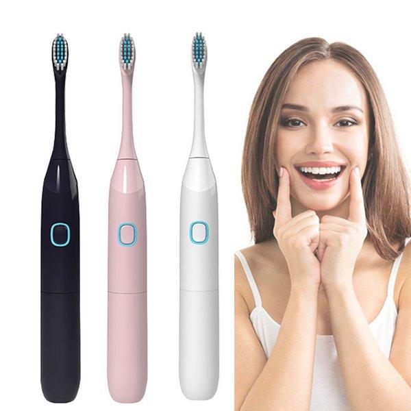 Potente cepillo de dientes eléctrico ultrasónico sónico Cepillos de dientes Cepillo de dientes lavable para blanquear electrónico Cepillo de dientes nuevo para limpiar el cepillo de dientes oral