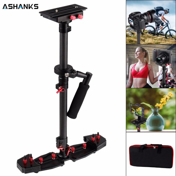 or photography ASHANKS 80cm/31.5'' Camera Stabilizer Carbon Steadycam HD2000 Handheld Steadicam for Photography Dslr Video 7kg with Carry...