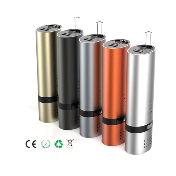 Original VS7 vape mod dry herb vaporizer with ceramic heating chamber with glass pipe electronic cigarette vape pen