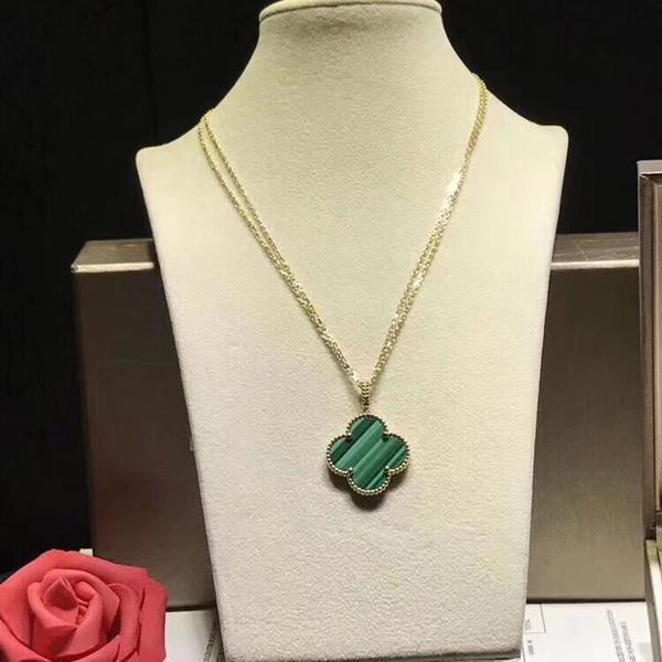 shell verde cadena de oro
